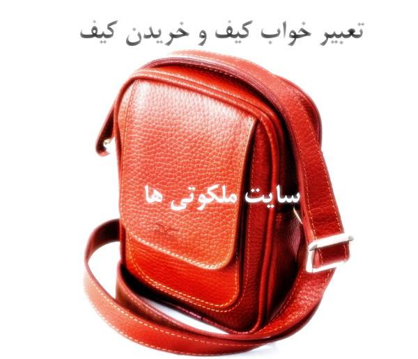 تعبیر خواب کیف و خریدن کیف - هدیه گرفتن کیف در خواب تعبیرش چیست