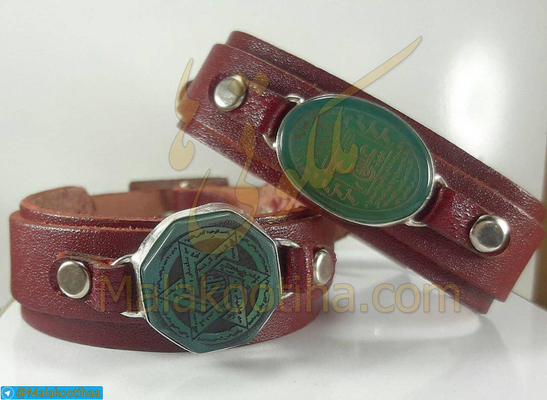 گردنبند عقیق عین علی - دستبند و انگشتری عین علی ع