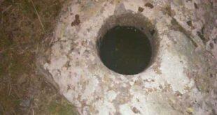 علامت و نشانه جوغن گرد روی سنگ در دفینه یابی و باستان شناسی