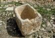 علامت و نشانه سنگاب ظرف بزرگ آب در گنج و دفینه یابی